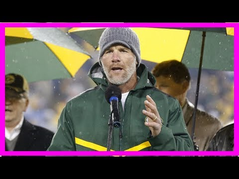 Brett Favre opens up about addiction for Peter King's final MMQB column By J.News