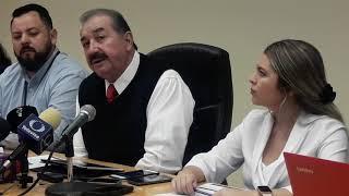 El tesorero municipal Víctor Cerda Romero