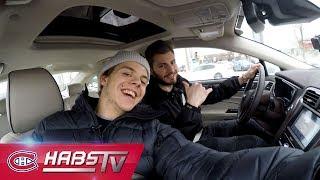 Carpooling with Victor Mete and Jesperi Kotkaniemi