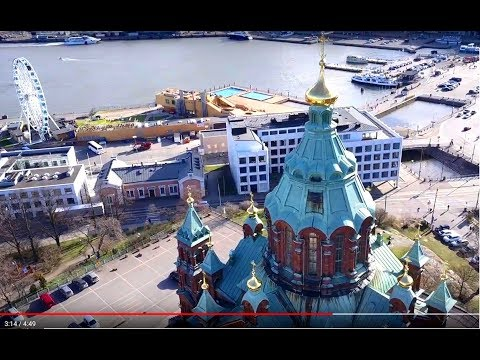 Beautiful Helsinki (Aerial 4K Ultra HD)