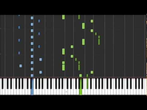 K-On!! - Fuwa Fuwa Time! (Piano) (Synthesia) (HD)
