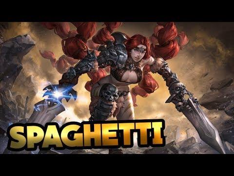 Spaghetti Jungle WP Rona | Full Crit Build | Vainglory Pro Gameplay