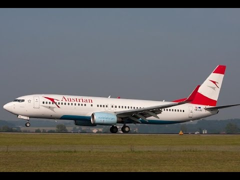 Austrian 737-800 Munchen - Vienna, Flight Simulator & Prepar3D , FSX P3D 2017, VATSIM HD