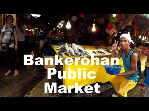 Bankerohan Public Market, Davao City, Philippines