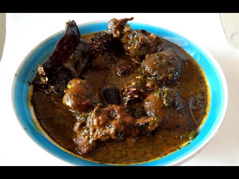 Spicy Abak Atama Soup Recipe (banga soup)