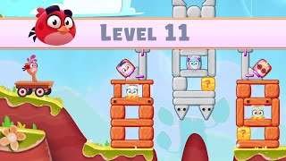 Angry Birds Casual Walkthough Level 11-20 (iOS Android Gameplay)
