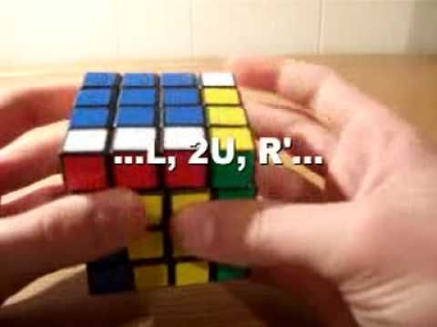 How to solve a 4x4x4 Rubik's Cube (3/3)