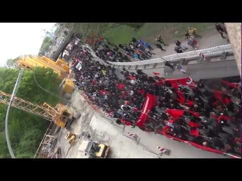 revolutionäre 1. Mai Demo: Reden, Ausschreitungen, Zugriffe; Hamburg, 01.05.2012