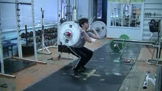 Савкин Виктор, 12 лет, вк 50 Толчок 21 кг Личный рекорд! Новичок