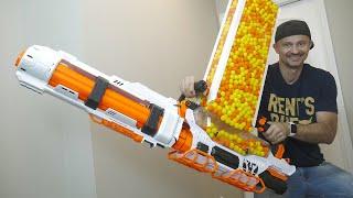 NERF GUN WAR 13
