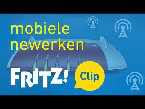 FRITZ! Clip – Internettoegang via mobiele newerken