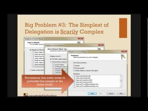 Webcast: Solving 4 of Active Directory's Biggest Problems