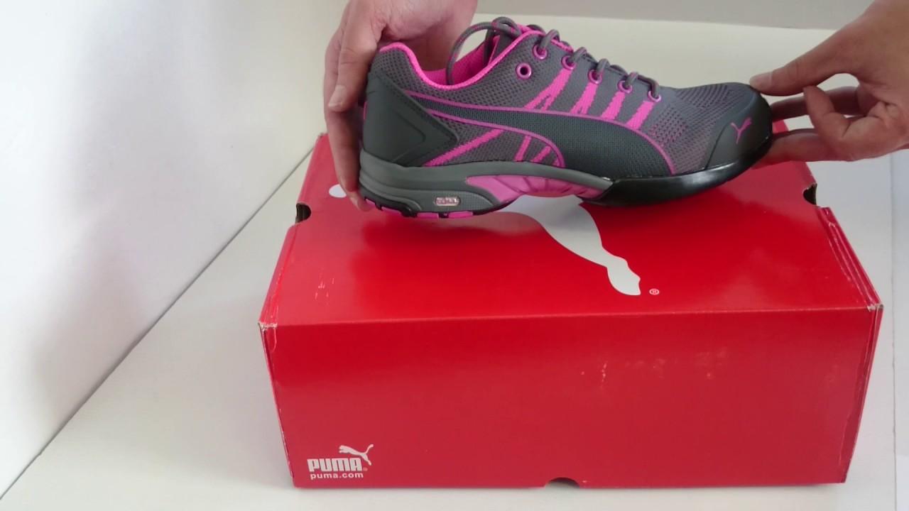 Dámska pracovná obuv PUMA Celerity S1 - YouTube 28d07b09c