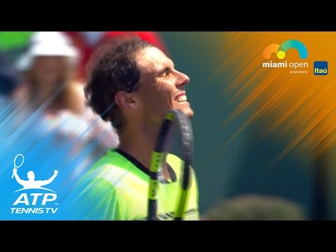Nadal, Federer set up Miami Open final clash | Miami Open 2017 Highlights Day 10