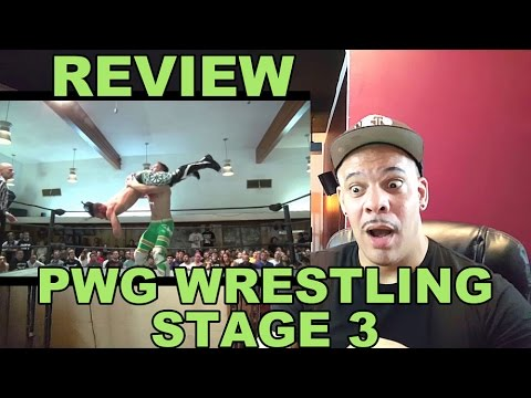 My Review/ReAction to PWG - Preview - 2015 Battle of Los Angeles - Stage Three