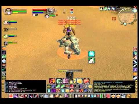 ZeuZ Level 60 Gnome Rogue Rank 14 Gear + Berserker Buff