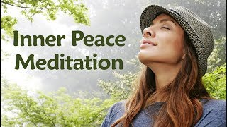 5 Minute Inner Peace Guided Meditation | Female Voice