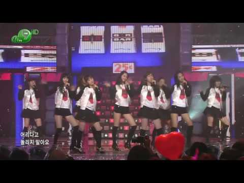 HD SNSD - Girls' Generation , Dec19.2007 2of2 GIRLS' GENERATION Live 720p