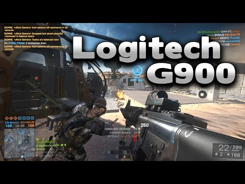 Battlefield 4 Logitech G900 Wireless Mouse + Chat Reactions