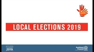 Become a candidate in the local elections (NZSL)   Auckland Council