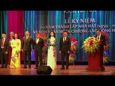 Lễ Kỷ Niệm 60 năm thành lập Nhà Hát Kịch Hà Nội (1959-2019) Tung Hoa Tưng Bừng
