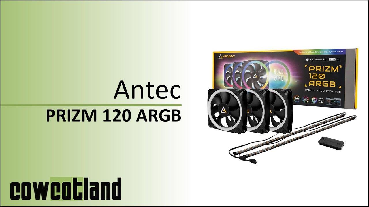 Download [Cowcot TV] Présentation pack Antec Prizm 120 ARGB