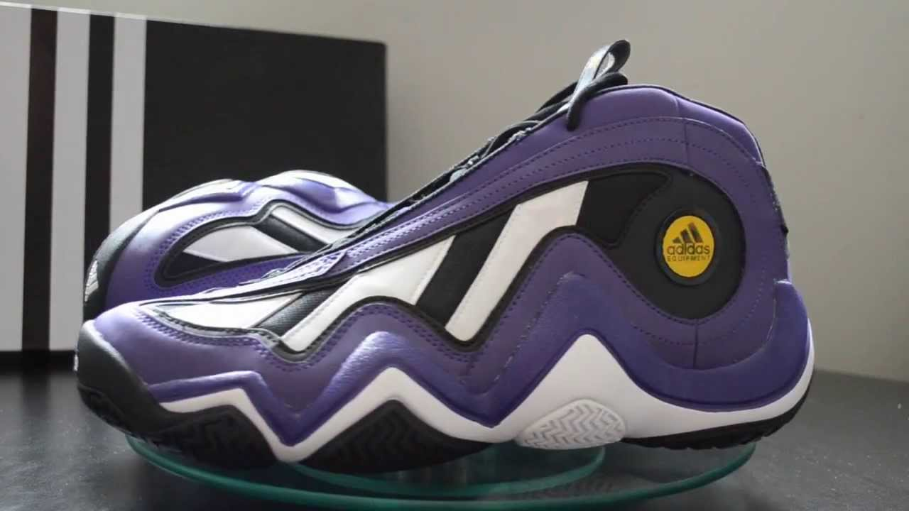 35869e16b0d2f2 Adidas Crazy 97 EQT Elevation 2013 Retro - Kobe Bryant Slam Dunk  Championship Shoe - YouTube