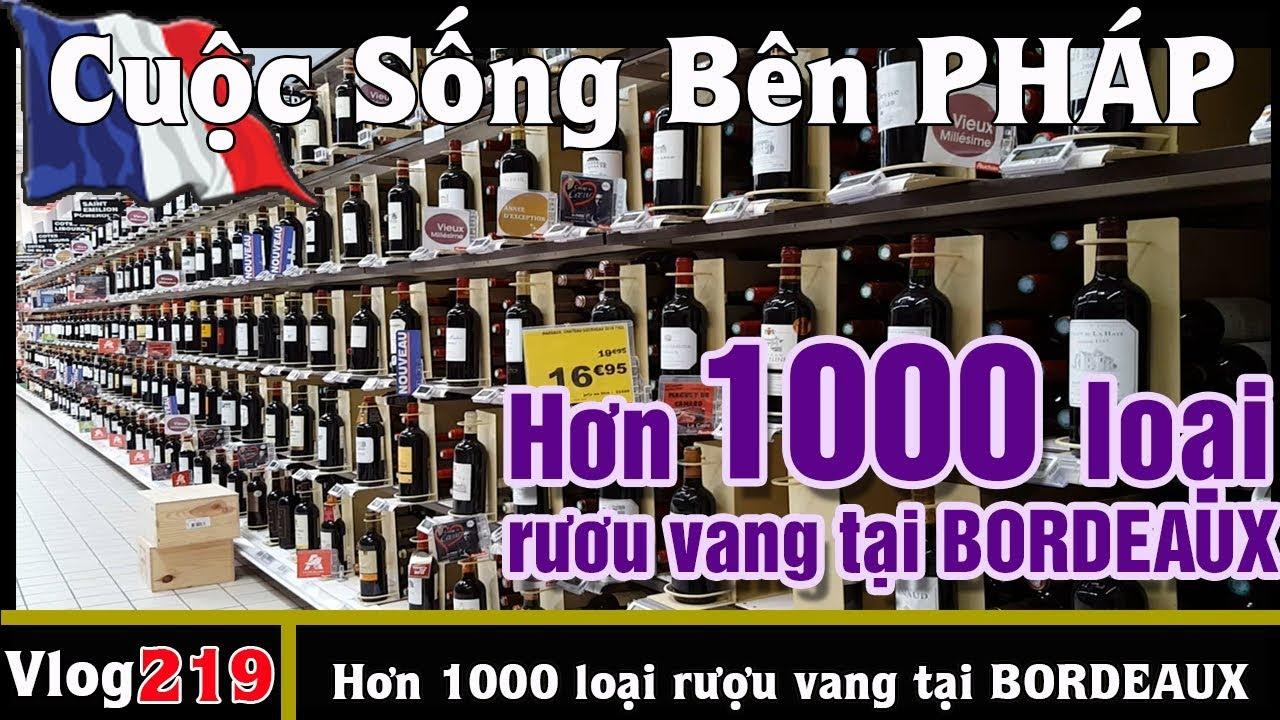 Hơn cả 1000 loại rượu vang trong chợ BORDEAUX – Cuộc Sống Bên PHÁP vlog 219