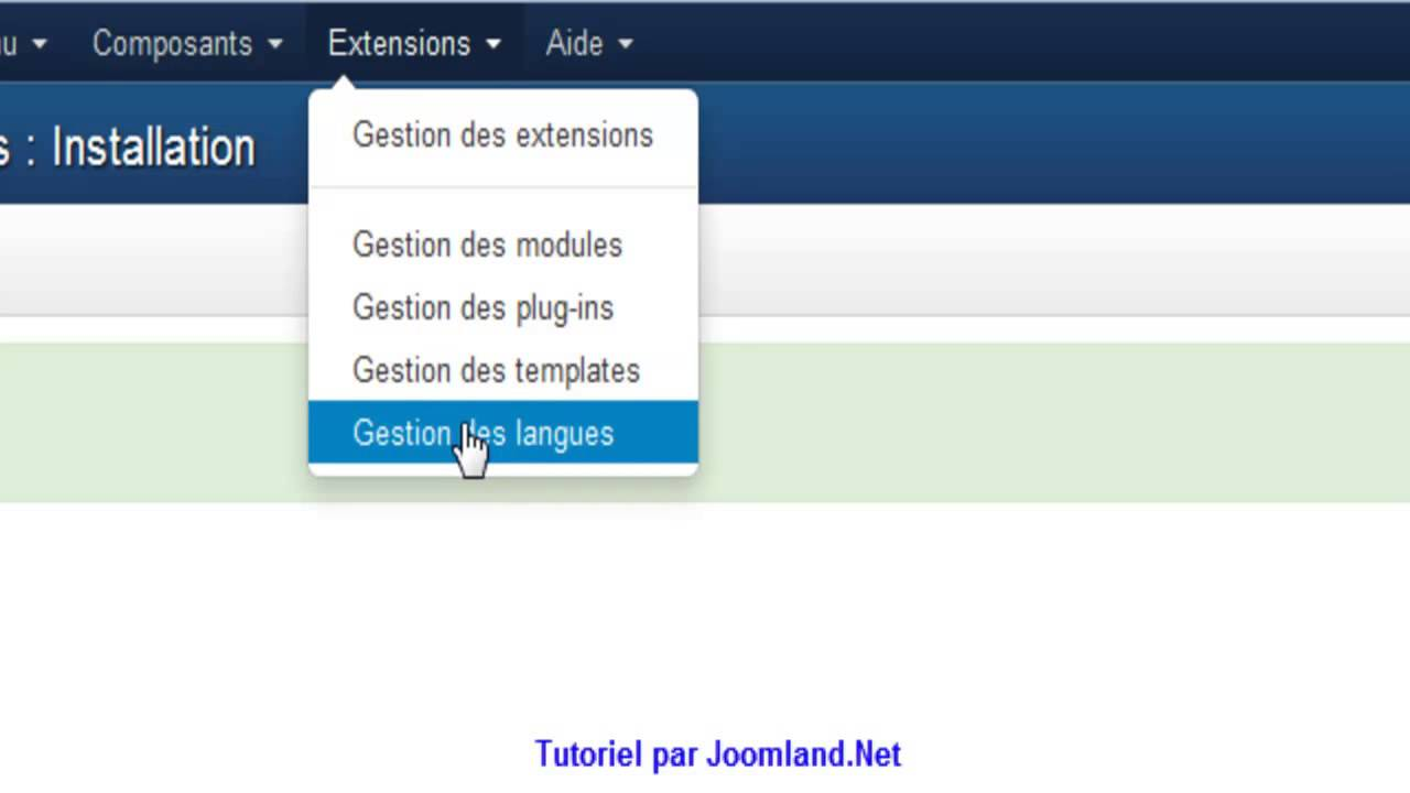 Installer un template sur joomla 3. X. X youtube.
