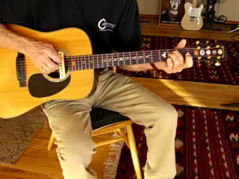 Where Have All the Flowers Gone - Guitar Finger Picking Solo - Jim ...