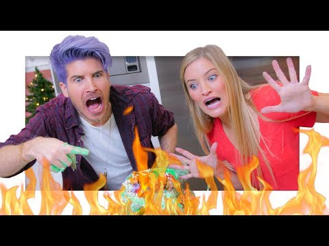Download Youtube: Christmas Cupcake Tower GONE WRONG with Joey Graceffa!