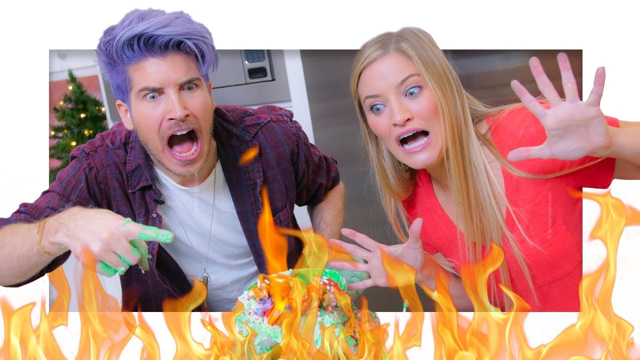christmas-cupcake-tower-gone-wrong-with-joey-graceffa