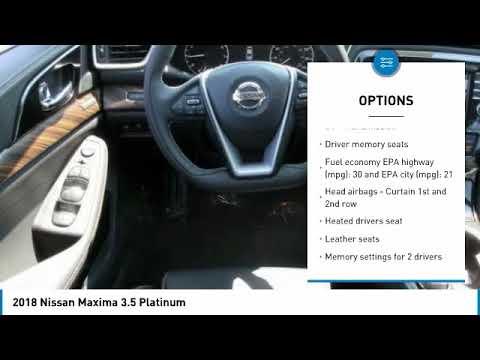 2018 Nissan Maxima York PA 26985