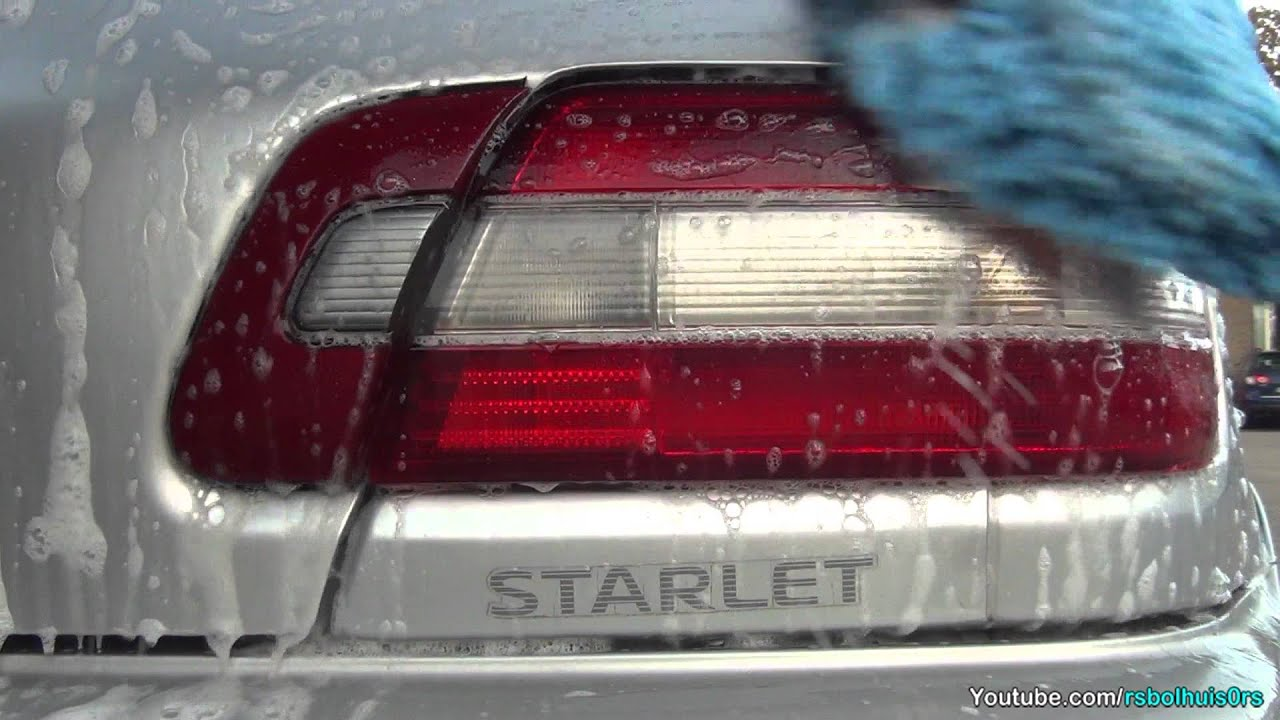 Starlet GT-Turbo EP82 - The Silver Bullet