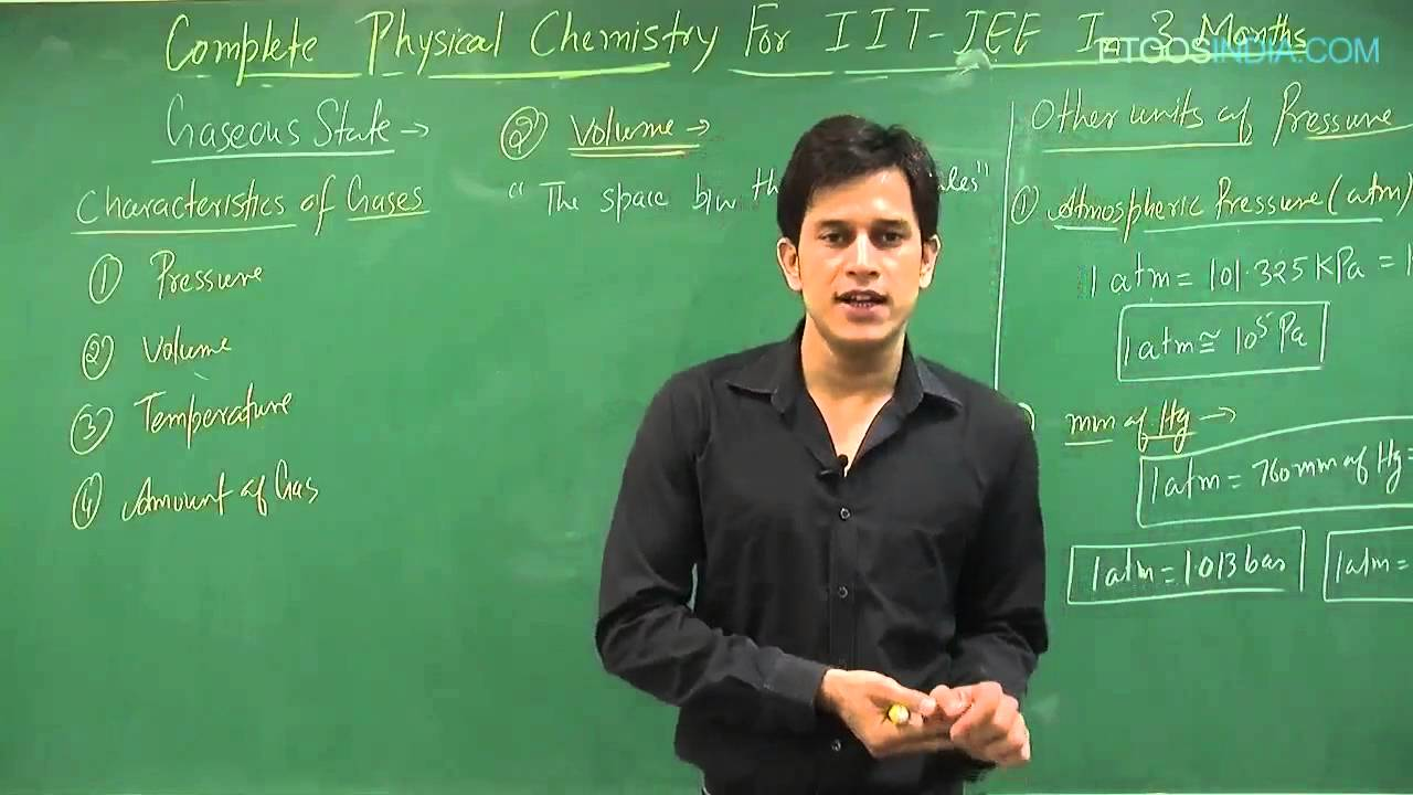 Gaseous State video Lecture for JEE Main & Advanced by Prince (PS) Sir