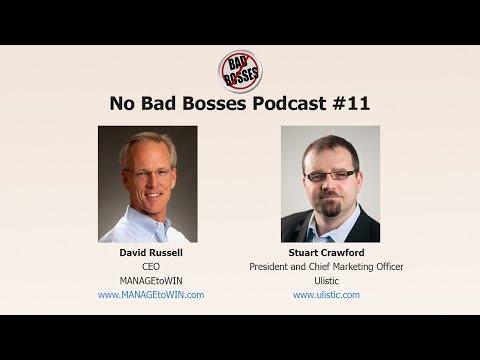 No Bad Bosses #11 - Stuart Crawford