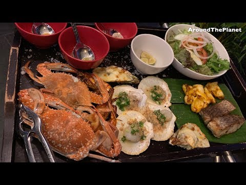 The Seafood Restaurant At Novotel Phu Quoc Resort - Menu And Foods
