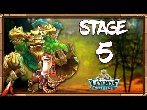 Limited Challenge: Crazy Chef Stage 5! P2P, F2P, And NO Rose Knight Teams! Lords Mobile