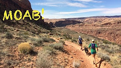 TRAIL RUNNING IN MOAB: PORCUPINE RIM