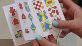 Кубики для детей своими руками: Уникуб. Сложи узор - YouTube