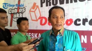 Persyaratan Calon Gubernur Jambi Masih Banyak Belum Lengkap Menurut KPU Provinsi