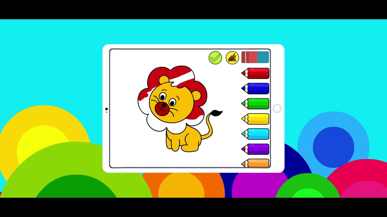 Coloring Games For Kids Drawing Creativity App Youtube