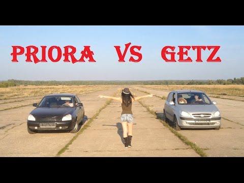 Bad Auto Hyundai Getz и гонка с Приорой