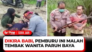 Dikira Seekor Babi, Seorang Pemburu Salah Tembak Hingga Korban Terkapar | Sidik Jari tvOne