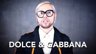 How to pronounce DOLCE & GABBANA