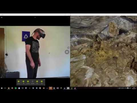 Archaeological Data visualized with HTC Vive Dev Kit in UE4