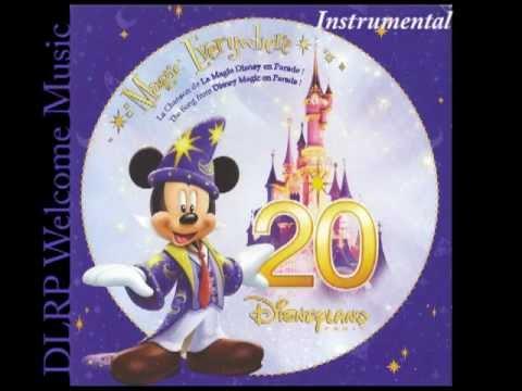 Magic Everywhere - instrumental - CD Disneyland Paris 20th anniversary