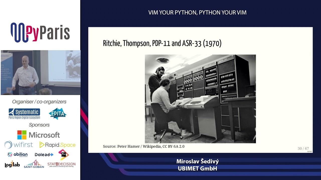 Image from Vim Your Python, Python Your Vim