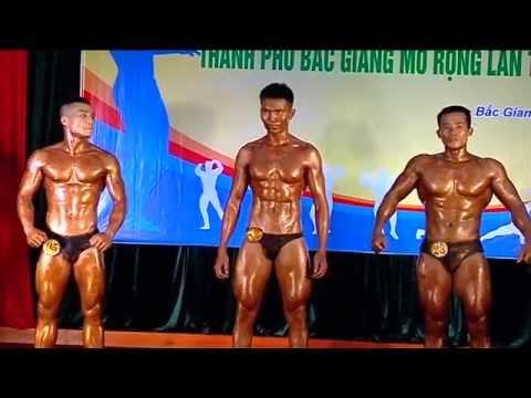 Vô địch thể hình Tỉnh Bắc Giang lần thứ nhất - phần 7