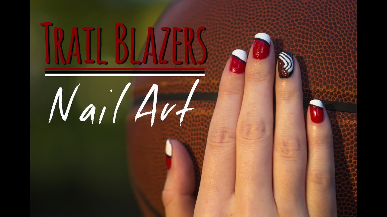 Trailblazers Nail Art Tutorial - YouTube